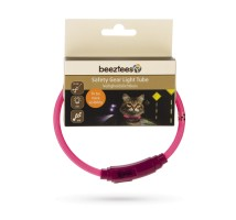 Beeztees Safety Gear Light Tube Katten Halsband USB