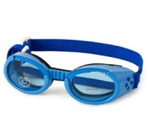 Hondenbril Doggles Shiny blue frame