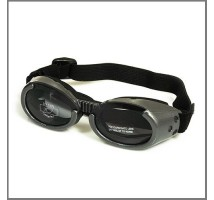 Hondenbril Doggles Shiny gray