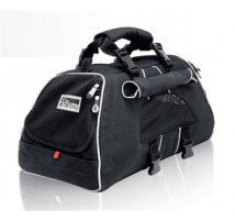 Dog bag Jet set black