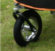 Vervangingskit wiel sporty trailer  Lucht