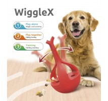 WiggleX 3-in-1 dog toy