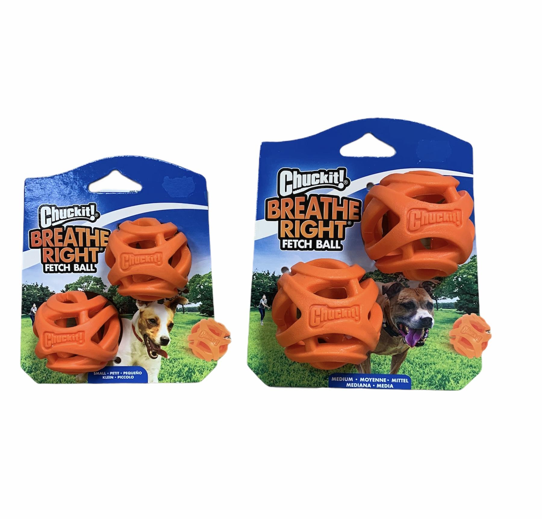 Chuckit Breathe Richt Fetch Ball 2-pack