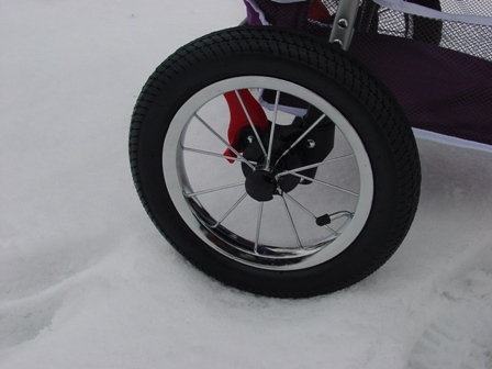 hondenbuggy achterwiel