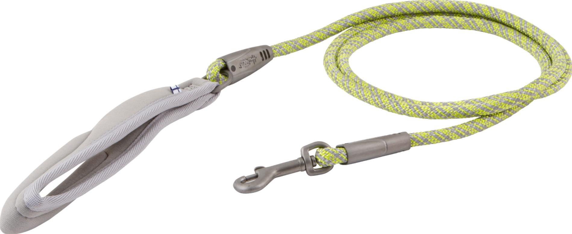 Hurtta Weekend Warrior rope leash neon Lemon