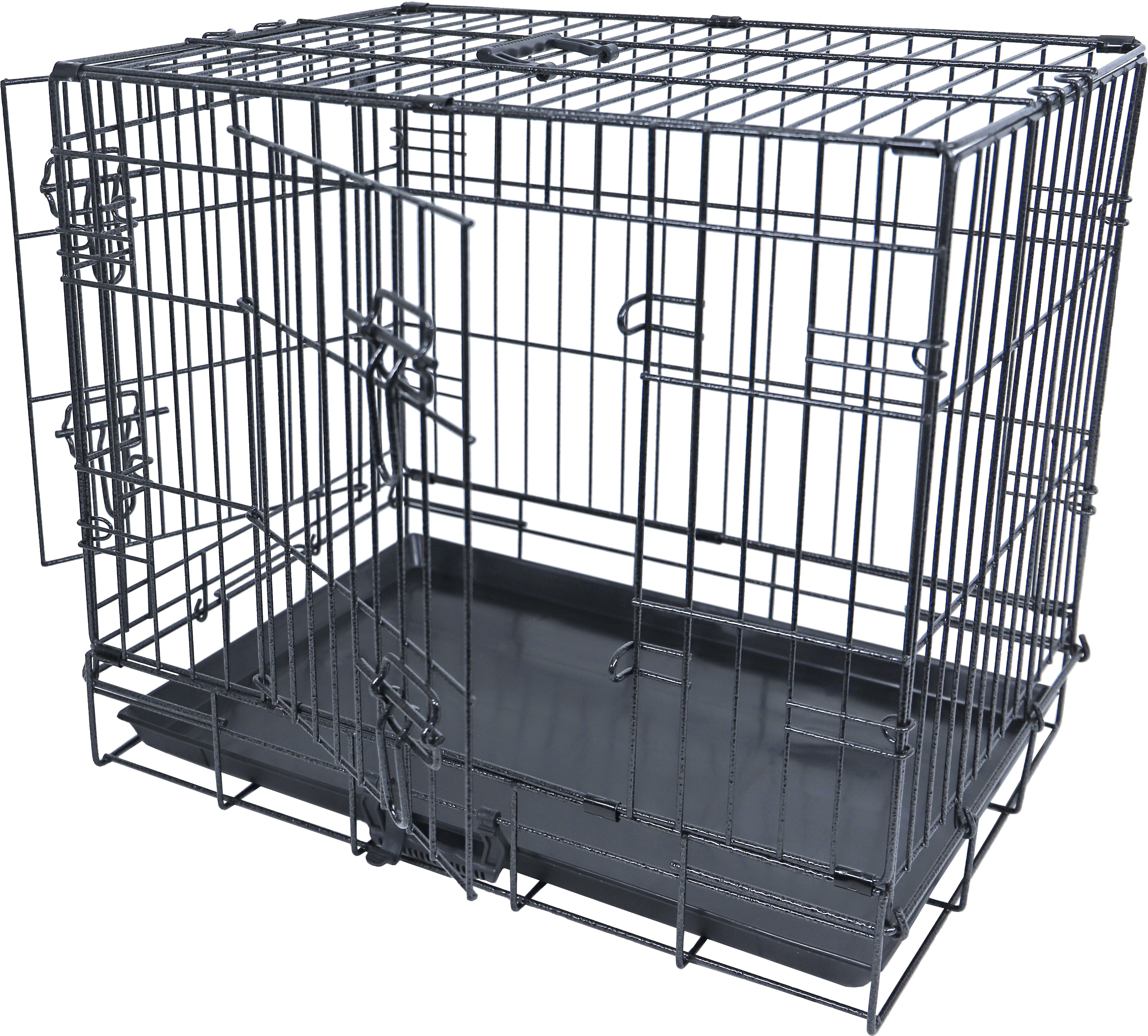 Premium Hondenbench 2 deurs hamerslag