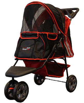 innopet all terrain buggy rood-zwart
