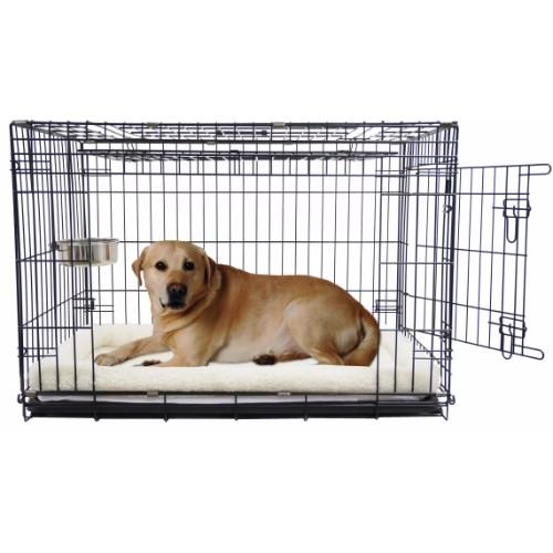 Hondenbench met deur en schuifdeur