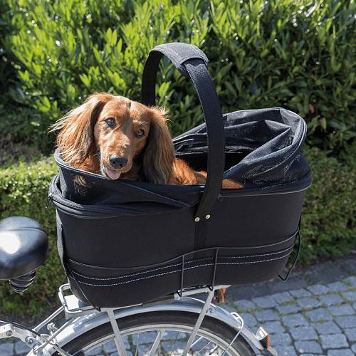 fietsmand long voor brede bagagedrager